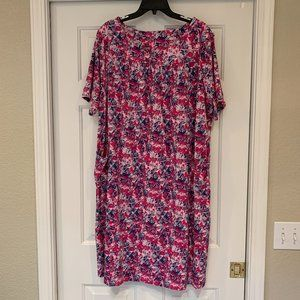 Anthony Richards Vintage House Dress Loungewear 1X